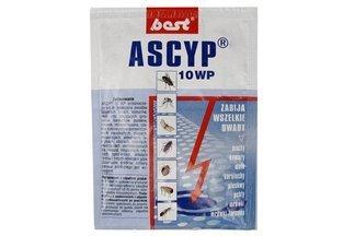 Ascyp 10 WP 25g – środek owadobójczy, trutka na muchy, komary, mole