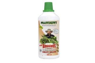 Biohumus Extra Kwiaty zielone 0,5 l – płynny nawóz naturalny