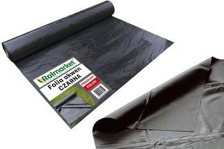 Folia do oczek wodnych, stawów i basenów Akwen 500, czarna 6x10m