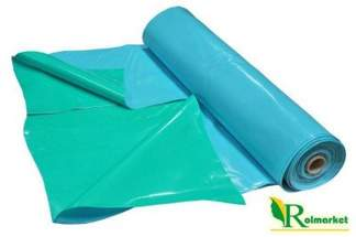Folia do oczek wodnych, stawów i basenów Akwen 500, zielono-niebieska 8x8m