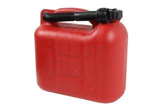Kanister plastikowy na benzynę z lejkiem 10 litrów