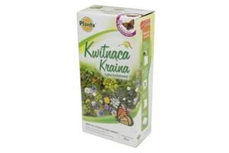 Łąka kwiatowa – mieszanka kwiatów i ziół wabiących motyle 200 g Planta