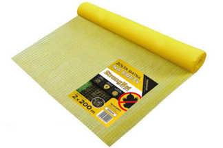 Najmocniejsza siatka przeciw kretom StrongNet - włoska (siatka na krety), oczko 15x19, kolor żółty 2x200m