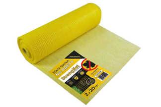 Najmocniejsza siatka przeciw kretom StrongNet - włoska (siatka na krety), oczko 15x19, kolor żółty 2x20m