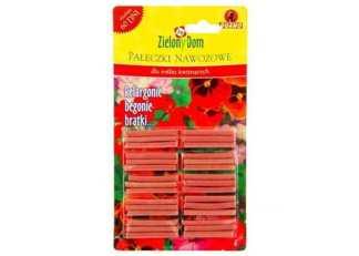 Pałeczki nawozowo-balkonowe dla roślin kwitnących Zielony Dom 30 szt pałeczek
