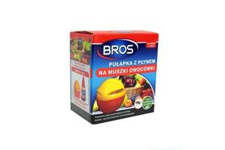 Pułapka na muszki owocówki BROS z płynem 30ml