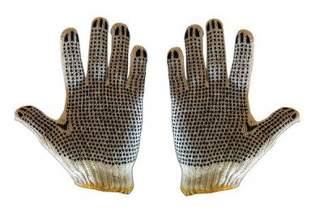 Rękawice robocze nakrapiane (1 para)