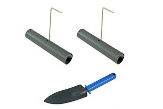 Tunelowa łapka na krety i nornice z sygnalizatorem + metalowa łopatka GRATIS