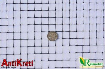 AntiKreti - hiszpańska, mocna siatka przeciw kretom (siatka na krety), oczko 13x13 - 1x200m