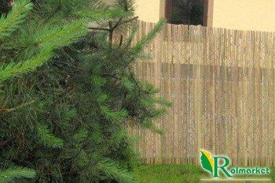 Mata osłonowa z listew bambusowych 1,5x2m