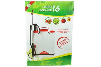 Opryskiwacz plecakowy z lancą teleskopową AGRO SPRAYER 16 litrów