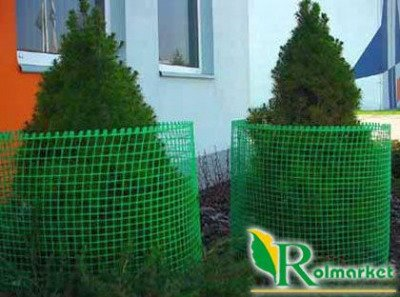 Siatka rabatowa 1,2x50m zielona
