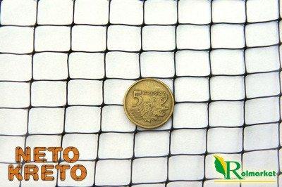 Neto Kreto - hiszpańska siatka przeciw kretom, na krety, oczko 10x14mm - 2x100m