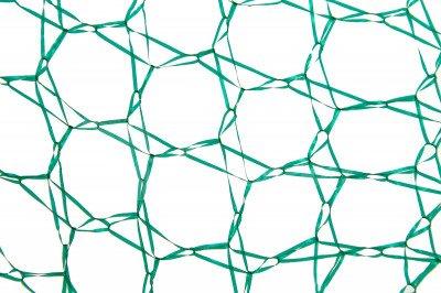 Zielona siatka do pakowania choinek, rękaw na choinki 40cm x 100m