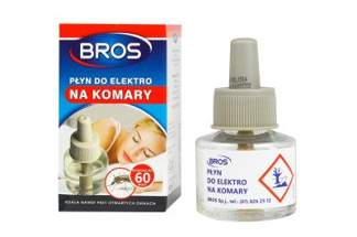 "BROS płyn do elektro na komary ""60 nocy"""