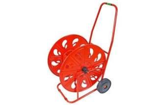 """Bardzo duży metalowy wózek na wąż 3/4"""" 140 m Professional AG320"""
