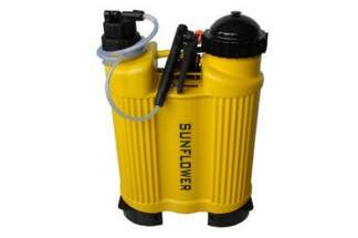 Ciśnieniowy opryskiwacz plecakowy Kwazar Słonecznik 18L