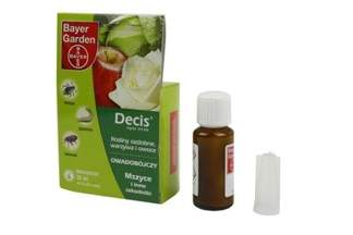 Decis Ogród 015 EW Bayer 30 ml – środek owadobójczy do zwalczania szkodników w uprawach sadowniczych (na mszyce, stonkę)