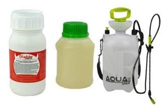 Diablo Forte – profesjonalny środek na odkomarzanie (komary, kleszcze i inne insekty) 250 ml + utrwalacz do oprysku 250 ml + Opryskiwacz 5l