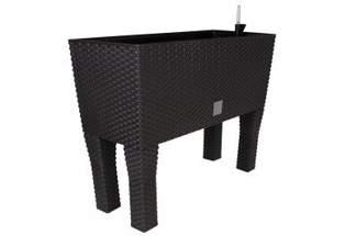 Doniczka dekoracyjna RATO DRTC600H CASE HIGH z systemem nawadniającym, umbra, długość 60cm