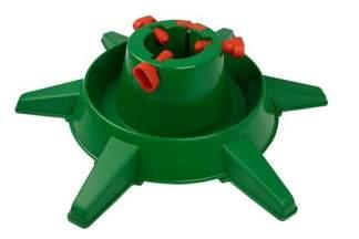 Duży, plastikowy stojak choinkowy ze zbiornikiem na wodę i 6 podporami XL