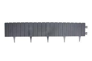 EKO-PALISADA , palisada ogrodowa, obrzeże trawnikowe firmy EKO-BORD 24cm x 1m – kolor grafit