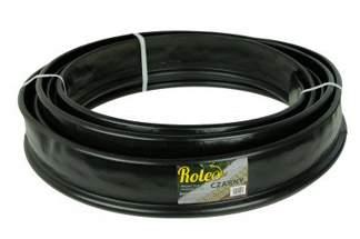 Elastyczne obrzeże ogrodowe Roleo 11cm x 20m - kolor czarny