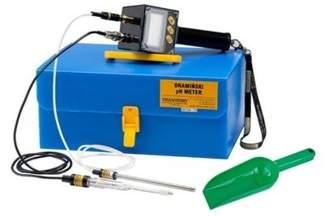 Elektroniczny tester kwasowości do gleby i płynów Dramiński PHG + GRATIS