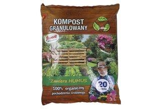 Florovit Pro Natura kompost granulowany 20l