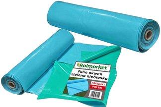 Folia do oczek wodnych, stawów i basenów Akwen 500, zielono-niebieska 8x9m