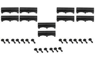 Karmnik deratyzacyjny na myszy i szczury - tunel 34cm, 10 sztuk
