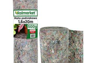 Mata podsiąkowa 1,6x20m (500g/m2) - ekologiczna