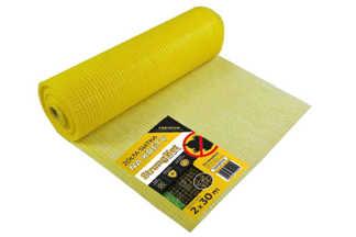 Najmocniejsza siatka przeciw kretom StrongNet - włoska (siatka na krety), oczko 15x19, kolor żółty 2x30m
