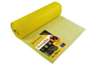Najmocniejsza siatka przeciw kretom StrongNet - włoska (siatka na krety), oczko 15x19, kolor żółty 4x30m