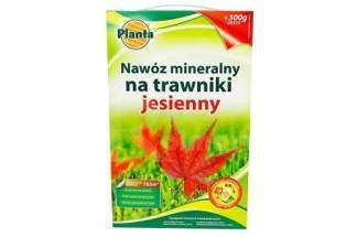Nawóz mineralny na trawniki jesienny o ulepszonej formule Planta 3kg