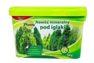 Nawóz mineralny pod iglaki w wiaderku Planta 5 kg
