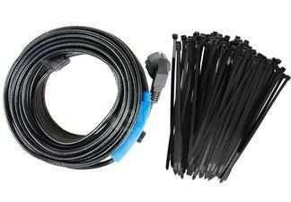 Niemiecki kabel grzewczy 2m z termostatem + opaski kablowe Gratis!