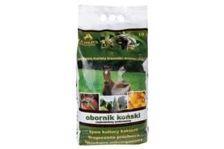 Obornik koński suszony, rozdrobniony pod m.in. warzywa i drzewa owocowe Ecolon 10l