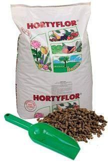 Obornik kurzo-bydlęco-koński Hortyflor 25kg + łopatka GRATIS