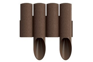 Palisada ogrodowa z teksturą drewna STANDARD 2,3m