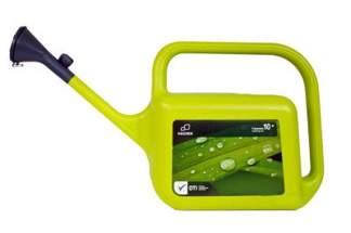 Plastikowa konewka zielona Hagsen Trapezium 10l