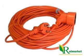 Przedłużacz ogrodowy kosiarkowy Acar  2x1,5mm -40m