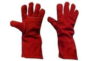 Rękawice spawalnicze z dwoiny bydlęcej (30 par)