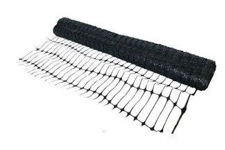 Siatka PCV Czarna 1,2x50m ogrodzeniowa, drogowa, do stabilizacji gruntu