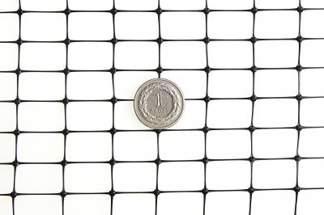 Siatka przeciw kretom, na krety, oczko 15x19mm – 2x200 m czarna