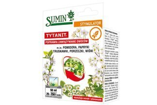 Stymulator wzrostu i plonowania roślin Tytanit Sumin 50ml
