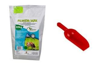 Trawa łąkowa Mleczna Łąka Premium 30kg - specjalistyczna mieszanka traw pastewnych pod wypas bydła + GRATIS