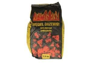 Węgiel drzewny do grilla 2,5kg