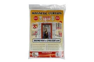 Zasłona magnetyczna moskitiera na owady 100x210/220 cm biała INSEKT STOP