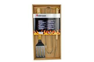 Zestaw akcesoriów do grillowania z drewnianymi rączkami  MG110 Mastergrill